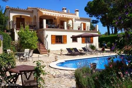 Vakantiehuis Spanje, Costa Brava, Calonge villa El Refugio