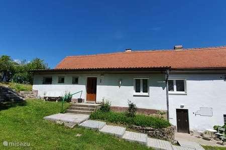 Vakantiehuis Tsjechië – gîte / cottage Cottage Levousy