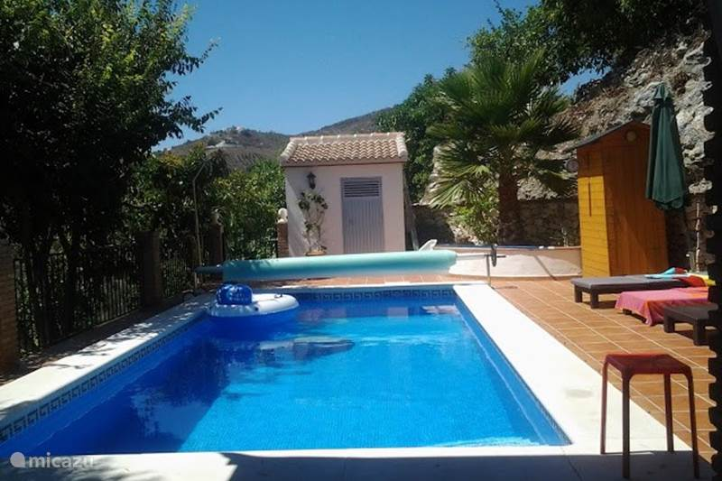 Vakantiehuis Spanje, Andalusië, Canillas De Albaida Villa Villa Flamenca