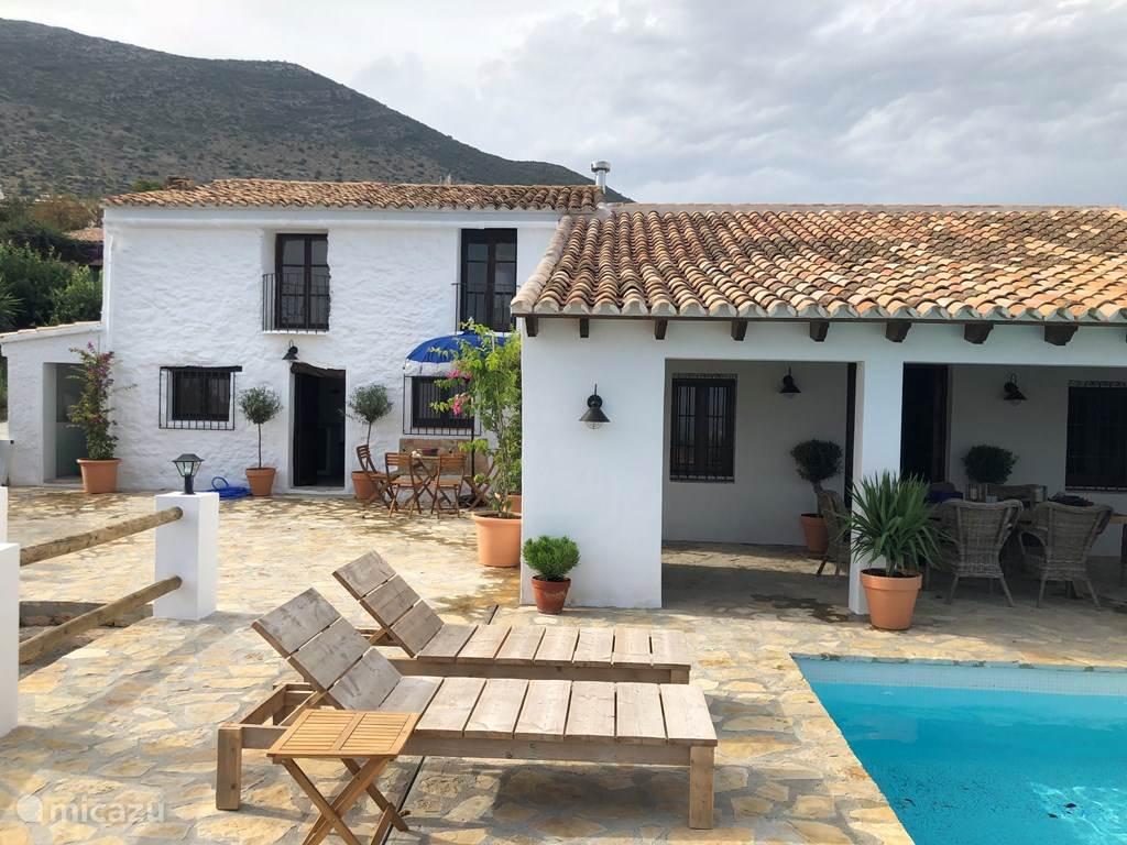 Ferienwohnung Spanien, Costa Blanca, Benissa gîte / hütte Caseta Rafalet