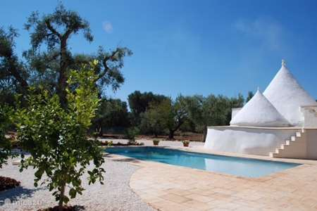Vakantiehuis Italië, Apulië (Puglia) , San Michele Salentino villa Trullo Sogno L'Estate 1 privézwembad