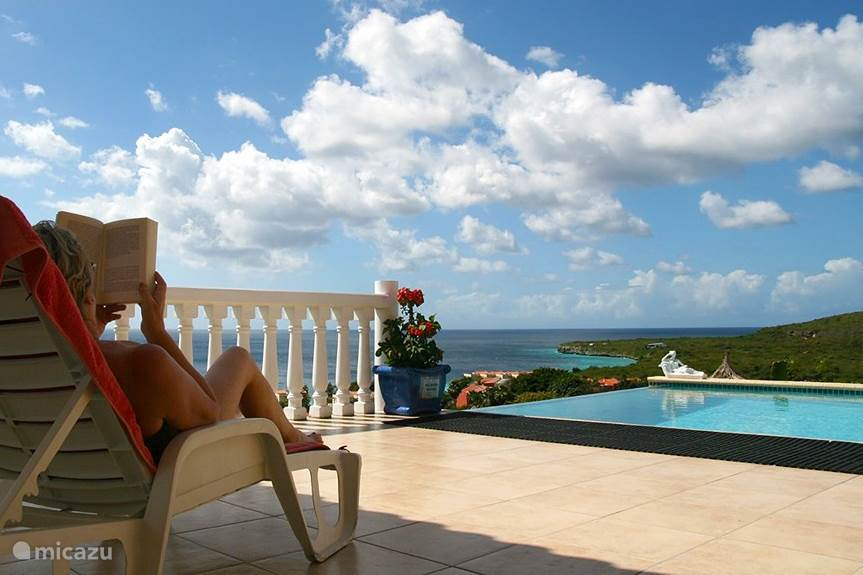 Vakantiehuis Curaçao, Banda Abou (west), Coral Estate, Rif St.Marie villa Villa Zeezicht Curaçao
