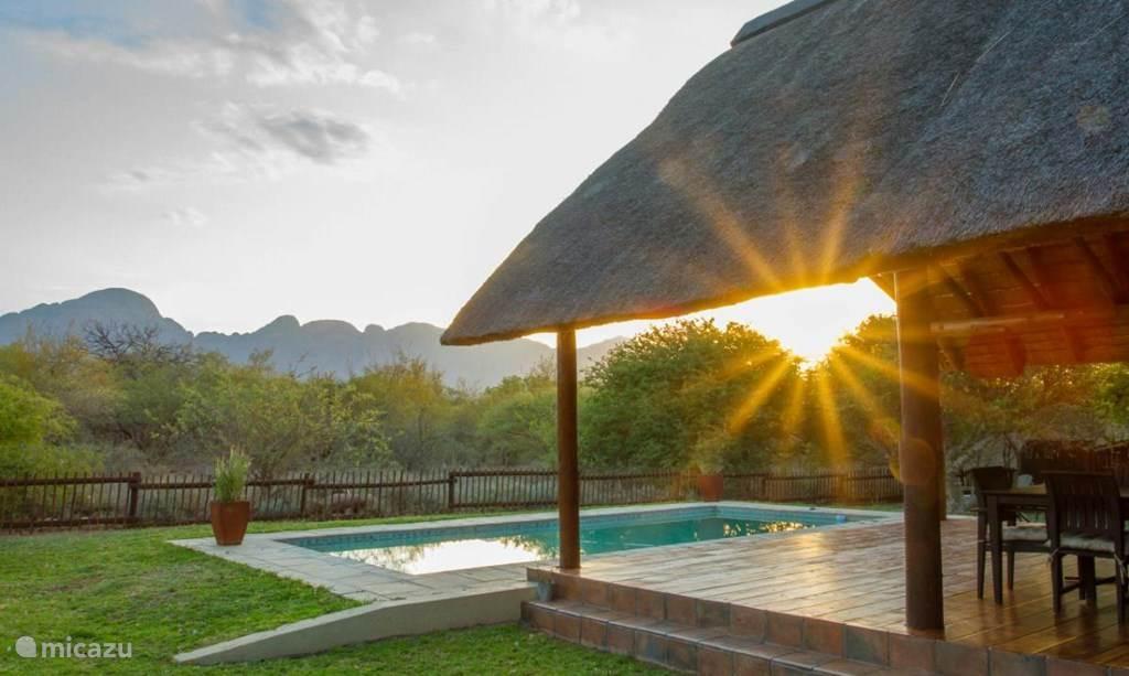 Vakantiehuis Zuid-Afrika – villa Luxe safari villa Ons Blyplekkie