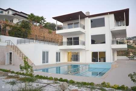 Vakantiehuis Turkije, Turkse Rivièra, Kargicak villa Nieuwe Duplex villa