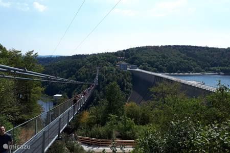 Langste hangbrug van Europa