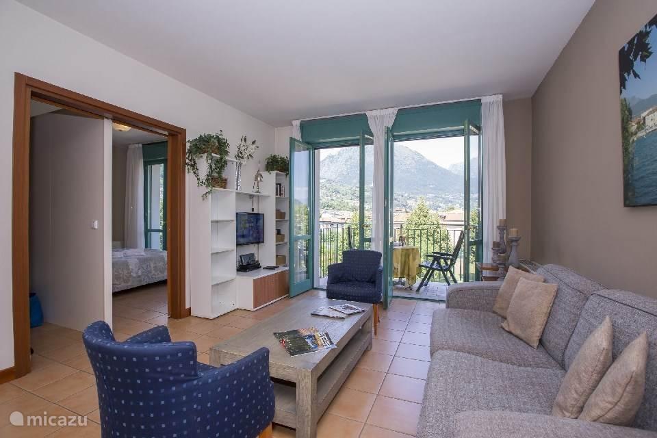Vakantiehuis Italië, Italiaanse Meren, Porlezza Appartement Porto Letizia appartement S3