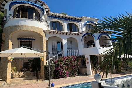 Vakantiehuis Spanje, Costa Blanca, Moraira villa El Castillo de Perro
