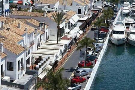 Puerto Banus met op de achtergrond de Concha berg