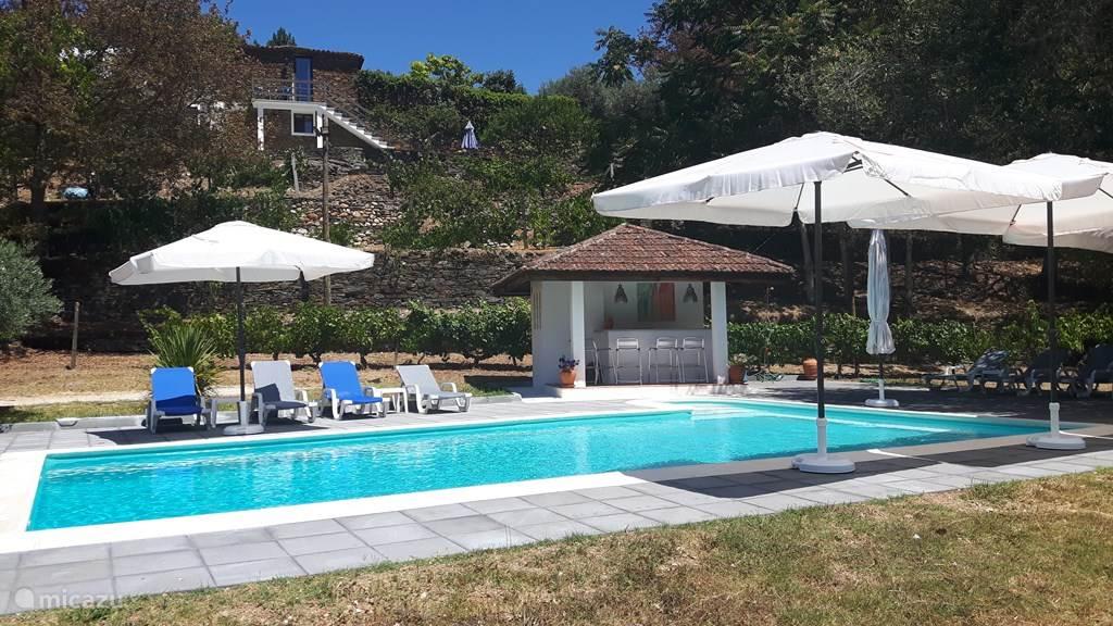 Vakantiehuis Portugal, Beiras, Arganil Villa Quinta met privé-zwembad