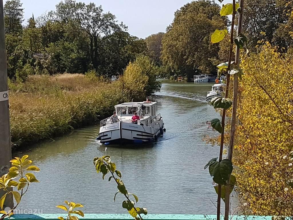 Prachtige boottochten langs Canal du Midi