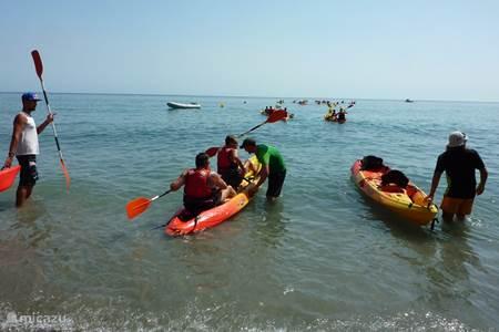 activiteiten aan zee