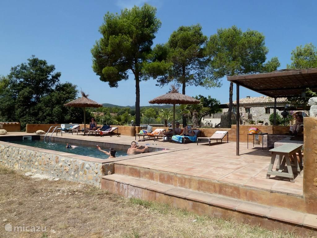 Vakantiehuis Spanje, Costa Brava, Cistella finca Can Lluis- La Cistella