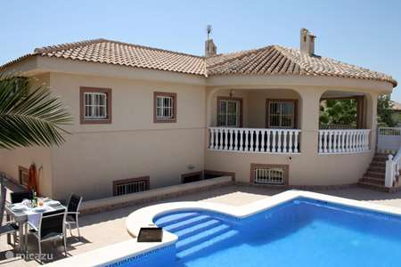 Vacation rental Spain, Costa Blanca, Rojales holiday house Sunndays holiday villa
