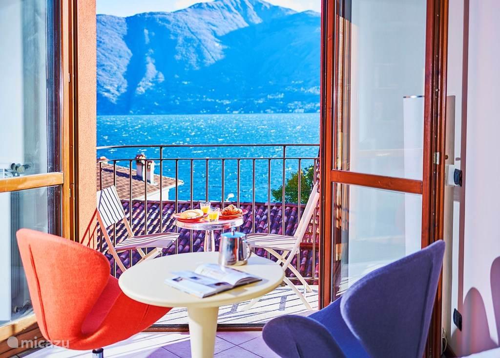 Vakantiehuis Italië, Comomeer, Acquaseria - studio Romantic Lakeview Apartment Italy