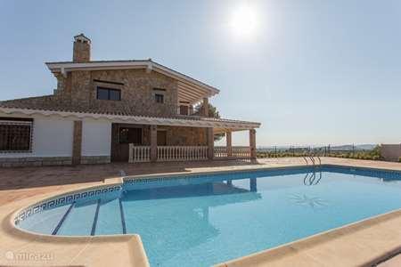 Vakantiehuis Spanje, Costa del Azahar, Navarrés chalet Entrepinos