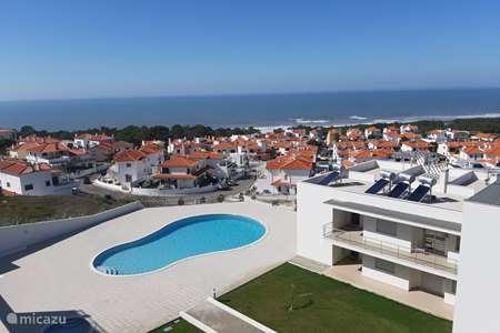 Vakantiehuis Portugal, Costa de Prata, Nazaré - appartement Cond. Muralha, appt. SEA-VIEW