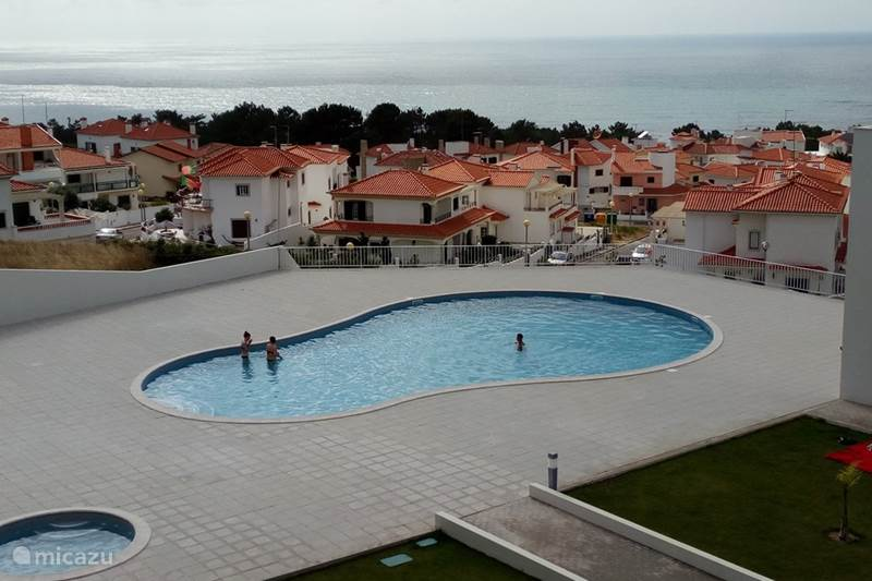 Vakantiehuis Portugal, Costa de Prata, Nazaré Appartement Cond. Muralha, appt. SEA-VIEW