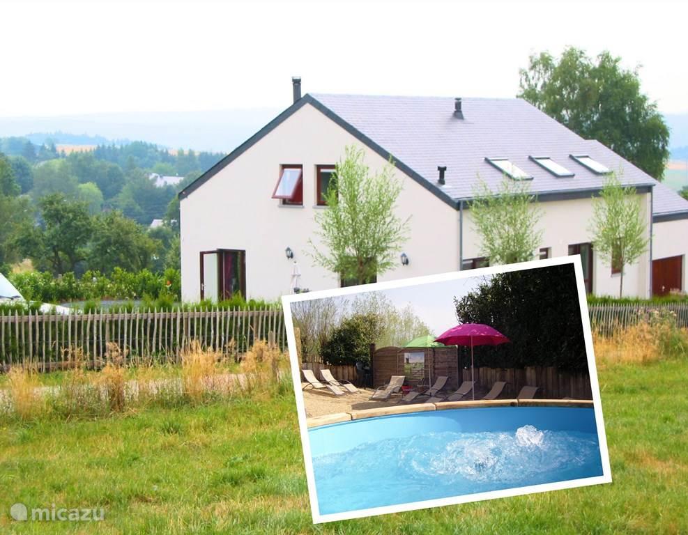 Ferienwohnung Belgien, Ardennen, La Roche-en-Ardenne ferienhaus Nos Reve mit Whirlpool