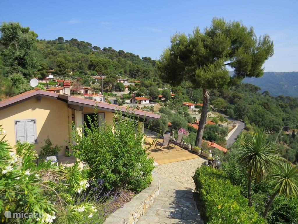 Vakantiehuis Italië, Ligurië, Diano Marina Vakantiehuis Casa Belga Merea