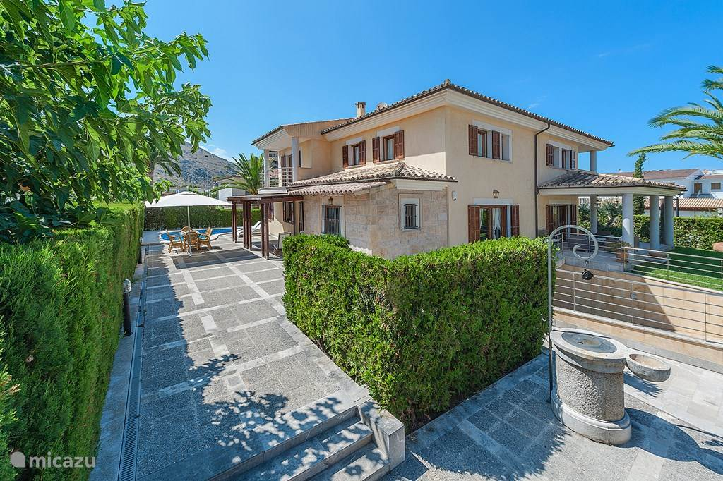 Vakantiehuis Spanje, Mallorca, Alcúdia Villa Villa 'Lucky Luke' - Prive Zwembad