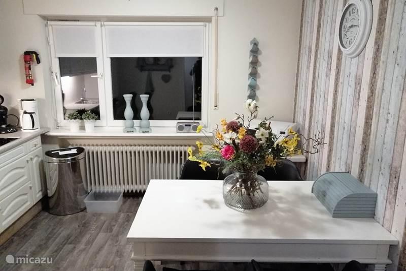 Vakantiehuis Duitsland, Nedersaksen, Großefehn Appartement 2-Slaapkamer Appartement met tuin