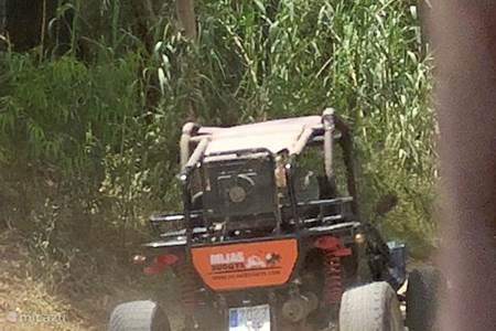 Buggy rijden in het prachtige spaanse achterland