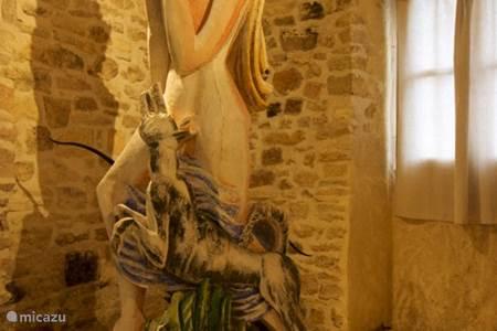 Breng een bezoek aan het kunstenaarsdorp Les Arques en bewonder Zadkine!