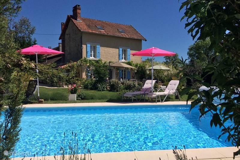 Vakantiehuis Frankrijk, Dordogne, Mialet Appartement Appartement Ambiance Lavande