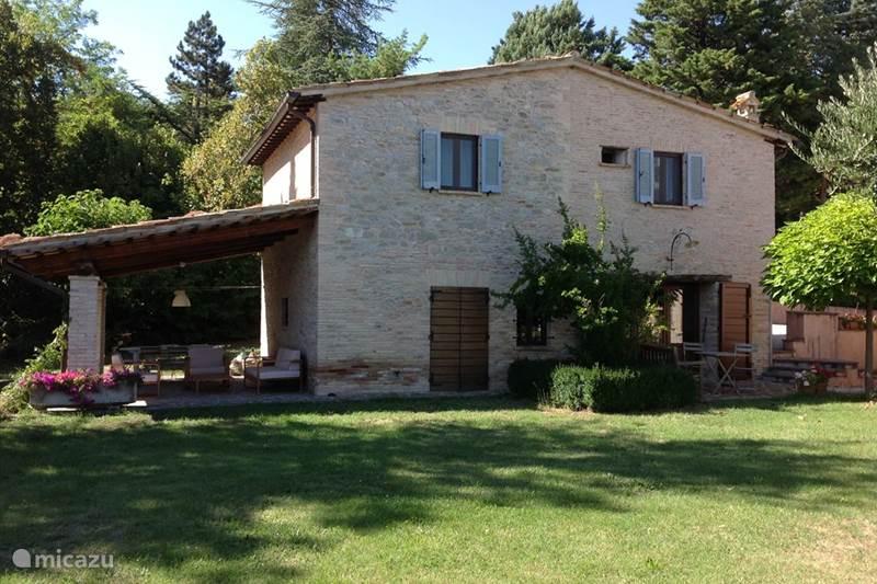 Vakantiehuis Italië, Marche, Sant'Angelo in Vado Vakantiehuis Ca'Salvatore, Ca'Rosellina