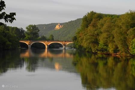 Brug over de Dordogne