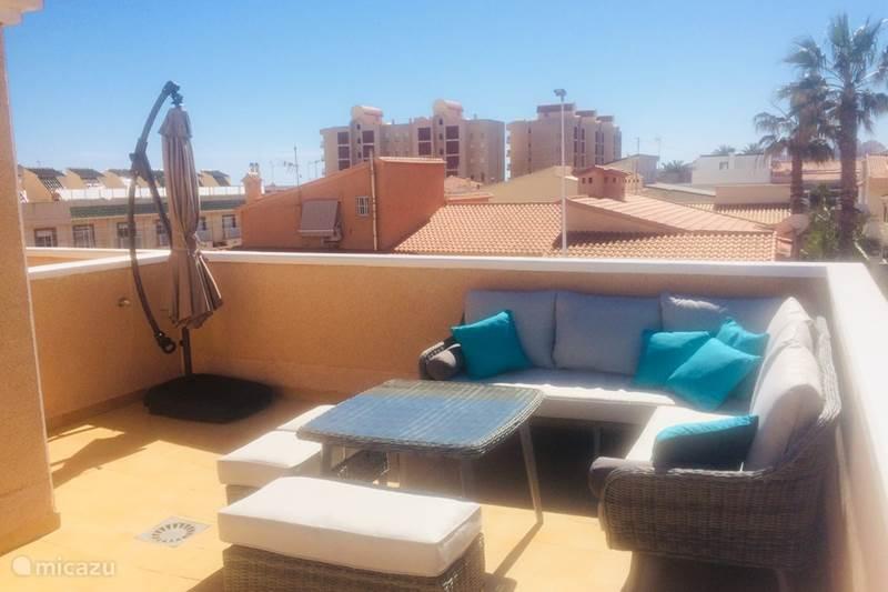 Vakantiehuis Spanje, Costa Blanca, La Mata Vakantiehuis Huis met dakterras en zeezicht