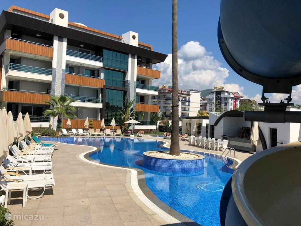 Vakantiehuis Turkije, Turkse Rivièra, Alanya - appartement Oba Lifegarden B8