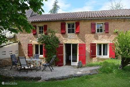 Vakantiehuis Frankrijk, Dordogne, Paunat vakantiehuis Gite Eva op landgoed La Renardière