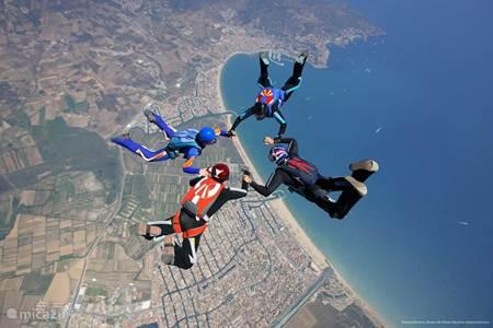 Parachute springen in Empuriabrava
