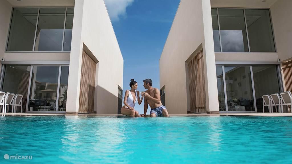 Vacation rental Bonaire, Bonaire, Belnem Villa Caraibas design villa with 20m pool