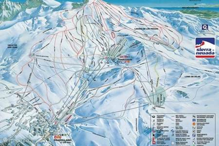 Schitterend Spaans skigebied in de Sierra Nevada