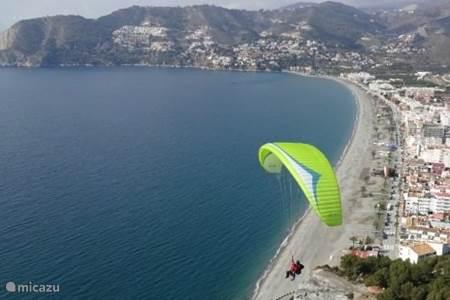 Paragliding in La Herradura Costa Tropical