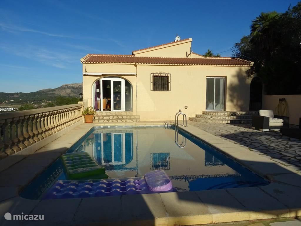 Vakantiehuis Spanje, Costa Blanca, Pedreguer vakantiehuis Casa Luna