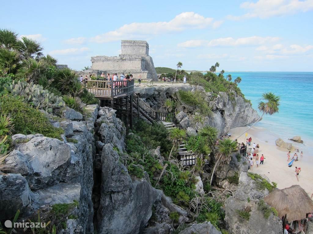 Maya ruïnes Tulum