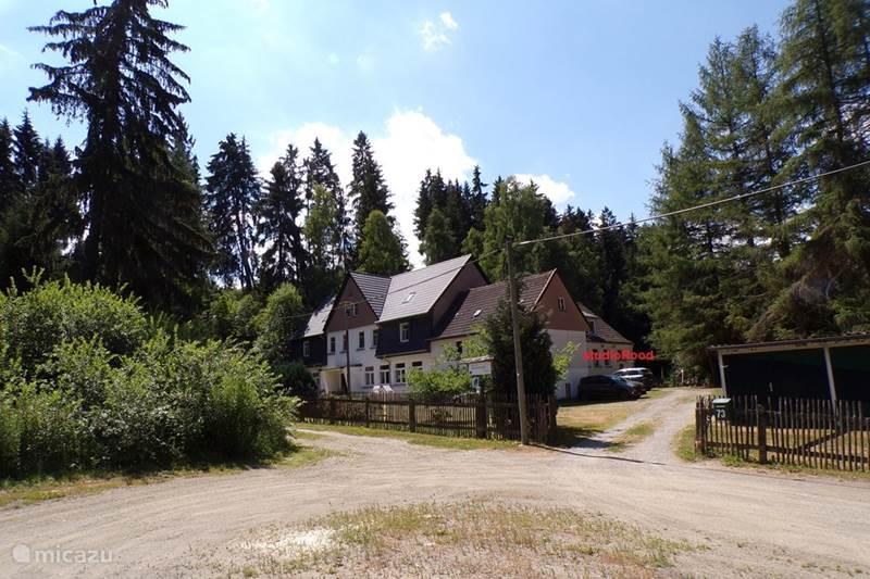 Ferienwohnung Deutschland, Harz, Allrode Studio Naturferienhaus Luppbodemühle Atelier