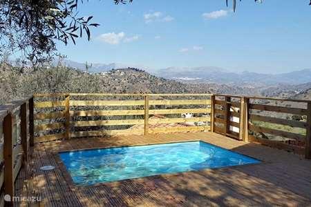 Vakantiehuis Spanje, Costa del Sol, Comares vakantiehuis Casa Wendy Comares