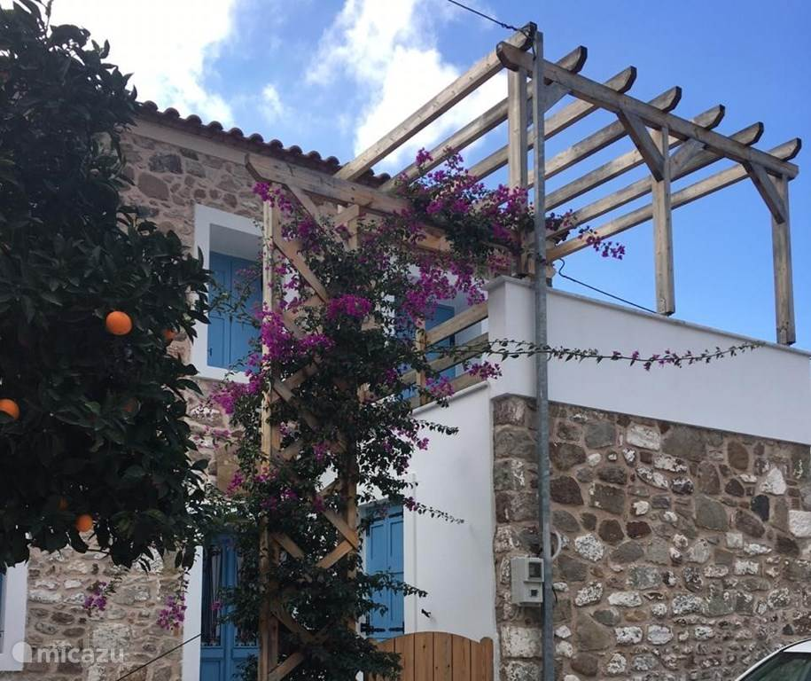Vakantiehuis Griekenland, Lesbos, Petra vakantiehuis Filoxenía
