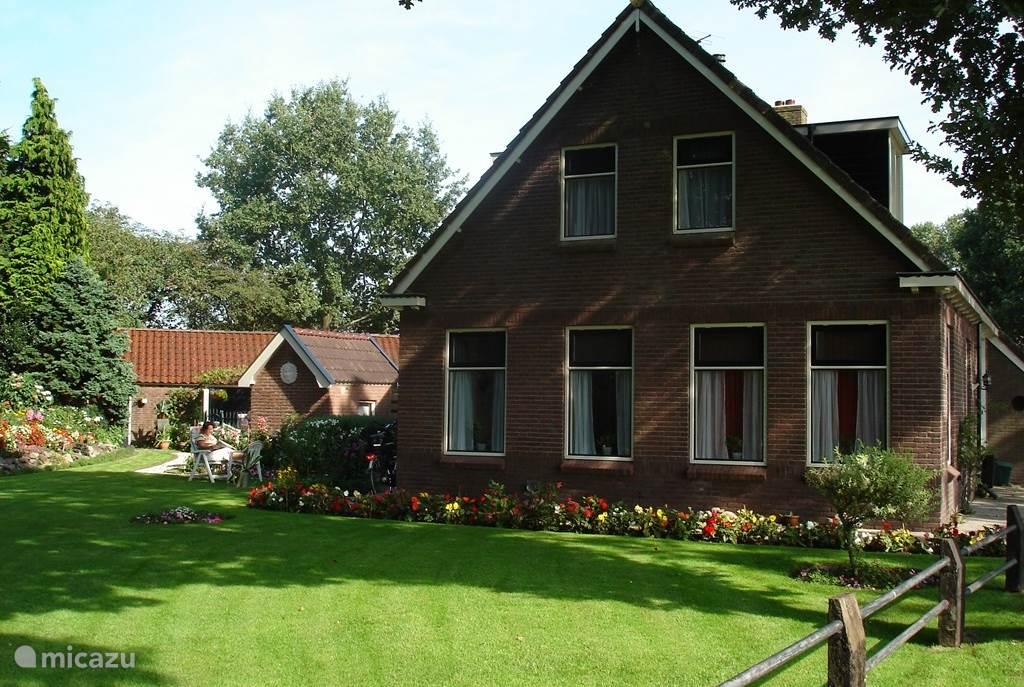 Vakantiehuis Nederland, Drenthe, Wapse Blokhut / Lodge Het Vossehol(Appartement beneden)