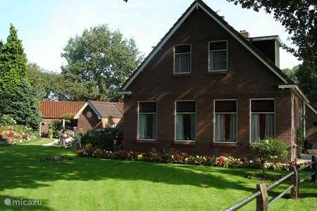 Vakantiehuis Nederland, Drenthe, Vledder - appartement Het Vossehol (Appartement beneden)