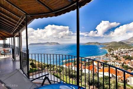Vakantiehuis Turkije, Lycische Kust, Kas penthouse Penthouse The Grand