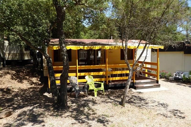 Vakantiehuis Frankrijk, Côte d´Azur, Roquebrune-sur-Argens Stacaravan fam. Camping Lei Suves, Cote d'Azur