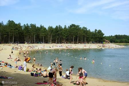 Zwemwater met strand De Zandenplas