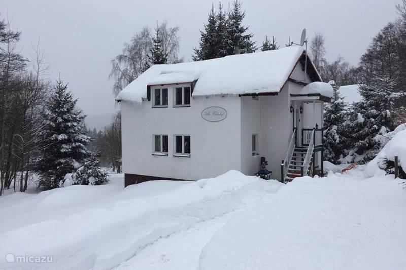 Vakantiehuis Tsjechië, Ertsgebergte, Marianska Jachimov Appartement Villa Felderhof