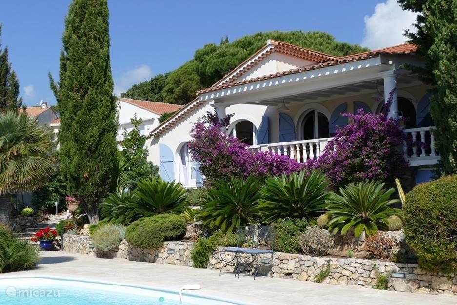 Vakantiehuis Frankrijk, Côte d´Azur, Sainte-Maxime villa Les Mimosas