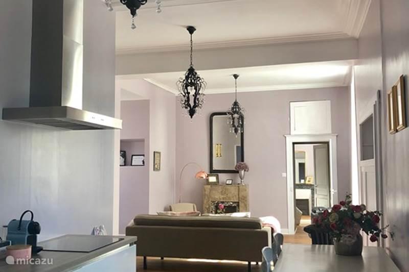 Vakantiehuis Frankrijk, Nièvre, Alligny-Cosne Appartement Domaine d'Alligny 'La Vie en Rose'